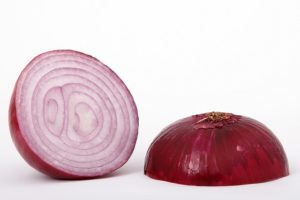 Onion as brown spots remover
