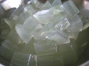 aloe vera as natural herbal skincare