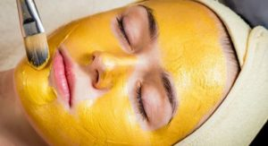 Tumeric face mask